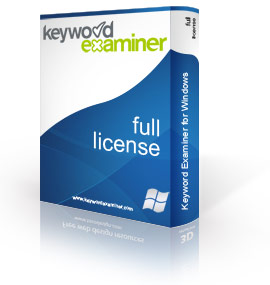 Keyword Examiner software full license